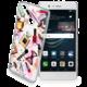 Cellularline STYLE průhledné gelové pouzdro pro Huawei P9 Lite, motiv GLAM