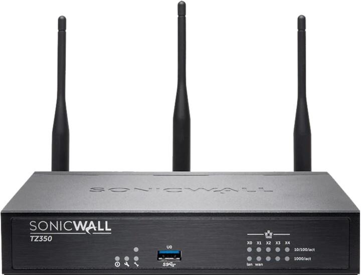 SonicWall TZ350 Wi-Fi, Dual-band, Total Secure na 1 rok