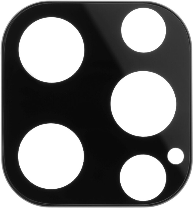 FIXED ochranné sklo fotoaparátu pro Apple iPhone 13 Pro, černá