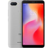 Xiaomi Redmi 6 Dual, 3GB/32GB, šedý