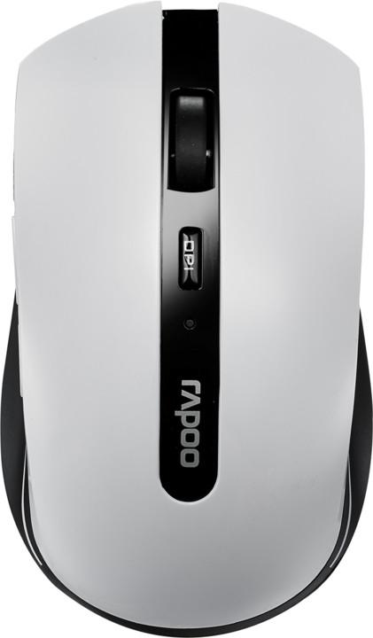 Rapoo 7200p, bílá