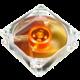 Akasa Amber, 80mm, průhledný