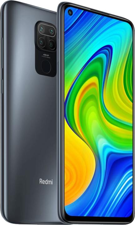 Xiaomi Redmi Note 9, 3GB/64GB, Onyx Black