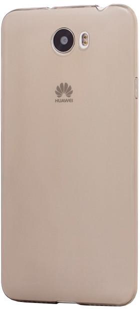 EPICO pružný plastový kryt pro Huawei Y5 II RONNY GLOSS - černý transparentní