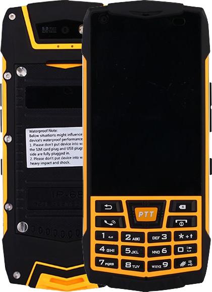 Cube 1 T1C - 8GB, Dual Sim, černo/žlutá