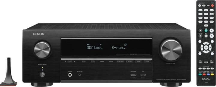 Denon AVR-X1600H, černá