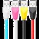 Remax Alien datový kabel s micro USB, 1m, červeno-černá