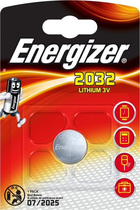 Energizer baterie CR2032