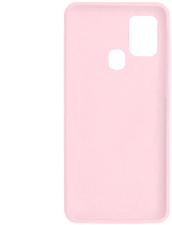 FIXED silikonový kryt Flow pro Samsung Galaxy A21s, růžová