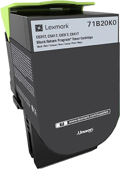 Lexmark CS/X317, černý