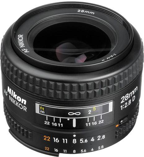Nikon objektiv Nikkor 28mm f/2.8D AF