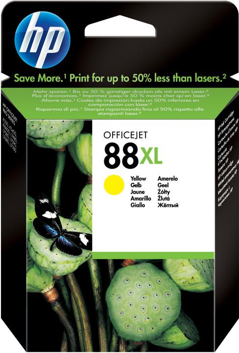 HP C9393AE, no.88, žlutá – ušetřete až 50 % oproti standardní náplni