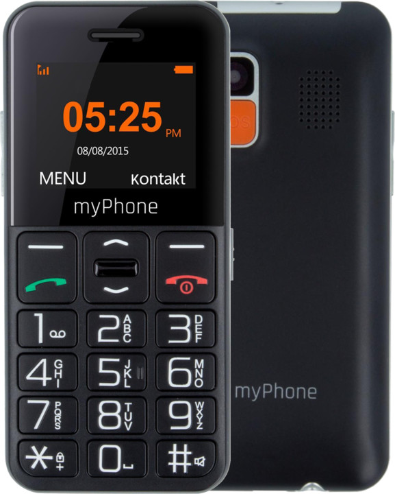 myPhone EASY, Black
