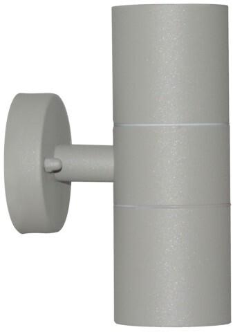 IMMAX NEO PARED double Smart bodové nástěnné svítidlo venkovní, šedá, 2x GU10 Zigbee 3.0