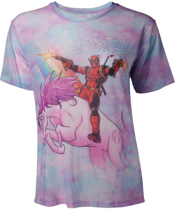 Tričko dámské Deadpool - Sublimation Mesh (L)