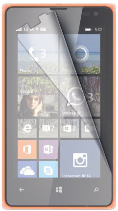 CELLY ochranná fólie displeje pro Microsoft Lumia 532, lesklá, 2ks