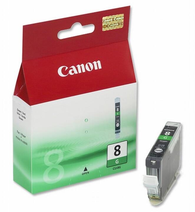 Canon CLI-8G, zelená