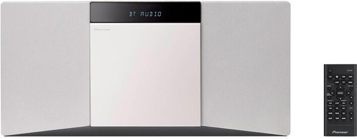 Pioneer X-SMC02D-W, bílá
