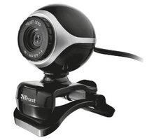 Trust Exis Webcam, černo-stříbrná