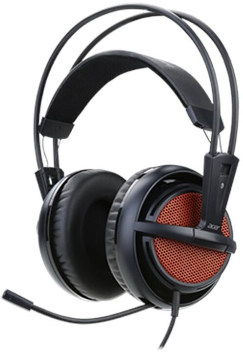 Acer Predator Gaming Headset by SteelSeries, černá