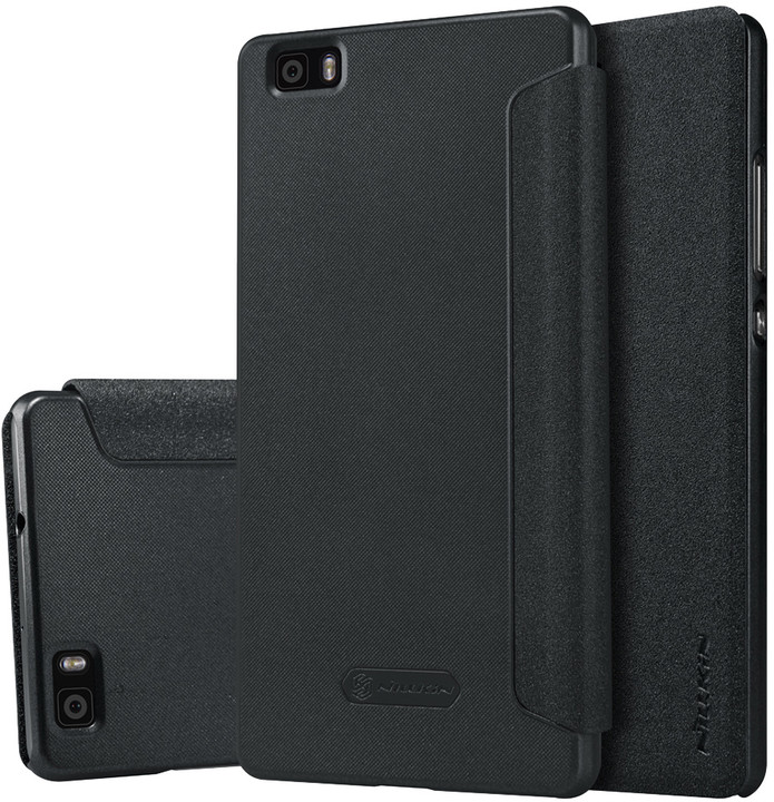 Nillkin Sparkle Folio pouzdro Black pro Huawei Ascend P8 Lite