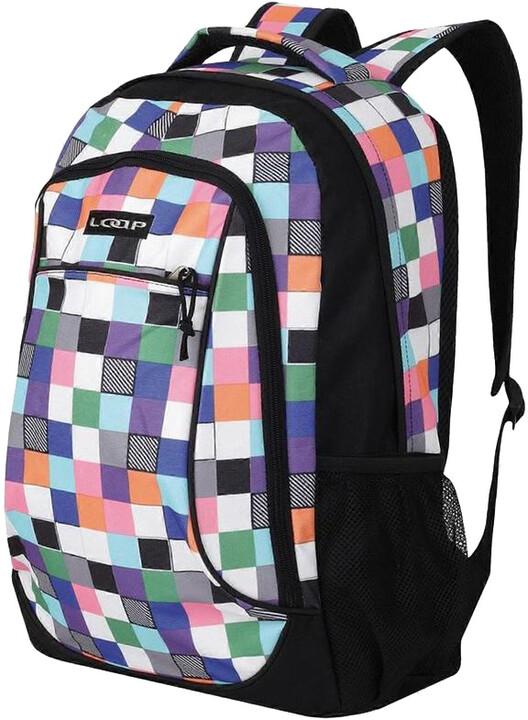Batoh LOAP Gill Color Cubes (v ceně 699 Kč) BD14113-130  11de955f5e