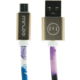 MIZOO USB/micro USB kabel X28-26m, Storm heaven