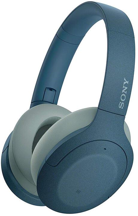Sony WH-H910N, modrá