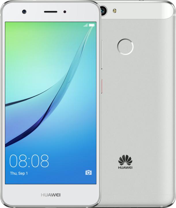 Huawei Nova, stříbrná