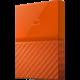 WD My Passport - 1TB, oranžová  + Voucher až na 3 měsíce HBO GO jako dárek (max 1 ks na objednávku)