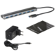 i-Tec USB 3.0 Hub 7-Port, metal, s napaječem
