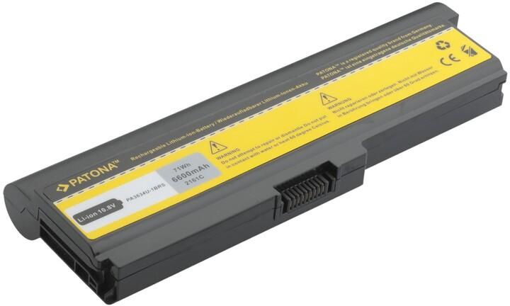Patona baterie pro TOSHIBA SATELLITE M300, M305 6600mAh 10,8V
