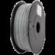 Gembird tisková struna (filament), PLA+, 1,75mm, 1kg, šedá