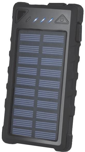 Forever STB-300 8 000 mAh, solární, černá