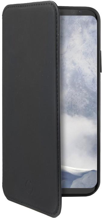 CELLY pouzdro typu kniha Prestige pro Samsung Galaxy S9, PU kůže, černé