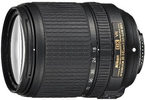 Nikkor 18-140MM F3.5-5.6G AF-S DX VR