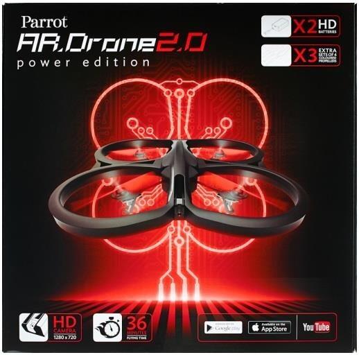 Parrot kvadrokoptéra AR.Drone 2.0, power edition