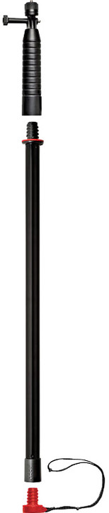 JOBY držák Action Grip & Pole, černá/červená