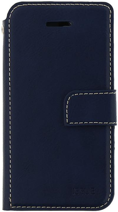 Molan Cano Issue Book Pouzdro pro iPhone 7/8 Plus, tmavě modrá