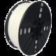 Gembird tisková struna (filament), flexibilní, 1,75mm, 1kg, bílá  + Voucher až na 3 měsíce HBO GO jako dárek (max 1 ks na objednávku)