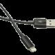 C-TECH kabel USB 2.0 Lightning (IP5 a vyšší) nabíjecí a synchronizační kabel, 1m, černá  + Při nákupu nad 500 Kč Kuki TV na 2 měsíce zdarma vč. seriálů v hodnotě 930 Kč
