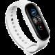 EPICO silikonový náramek pro Xiaomi Mi Band 5, bílá