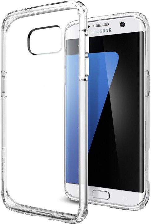 Spigen Ultra Hybrid, crystal clear - Gal S7 edge
