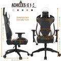GAMDIAS Achilles E1, černá/bílá