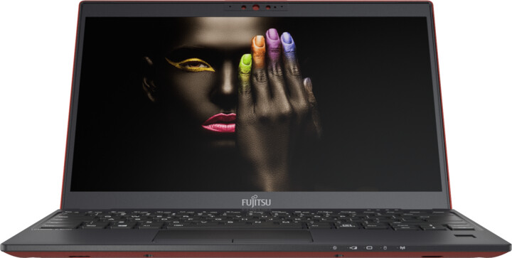 Fujitsu LifeBook U9310, červená