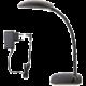 Emos LED stolní lampa MA66 s USB, ohebná, černá