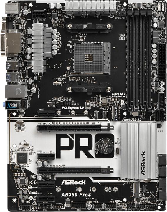 ASRock AB350 Pro4 - AMD B350