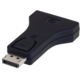 C-TECH adaptér DisplayPort - VGA, M/F, černá