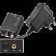 PremiumCord Převodník z digitálního signálu SPDIF a optického Toslink na 2x CINCH