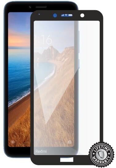 Screenshield ochrana displeje Tempered Glass pro Xiaomi Redmi 7A, full cover, černá